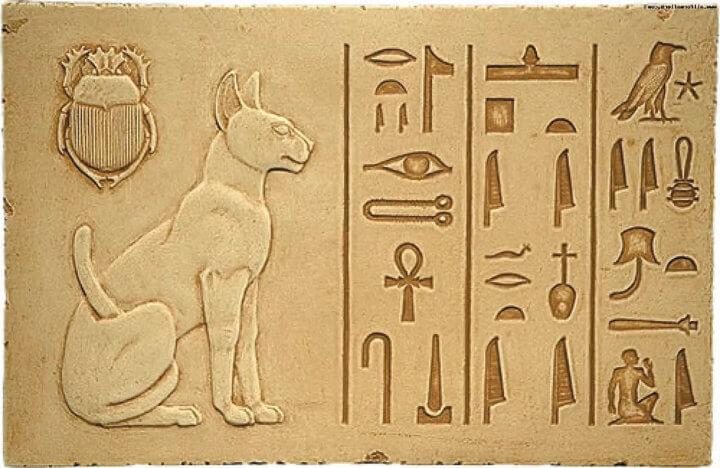 Жизнь кошек в Древнем Египте