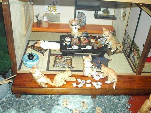 Музей кошек Изу-Коген Префектуре Шизуока