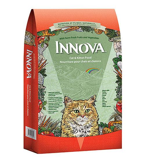 innova - корм для кошек класса холистик