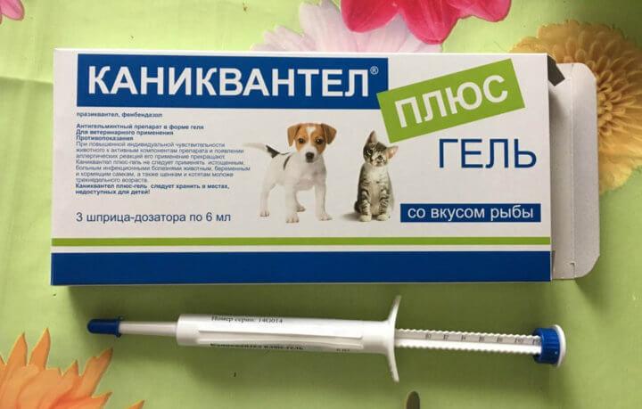 Антигельминтный гель с инструкцией