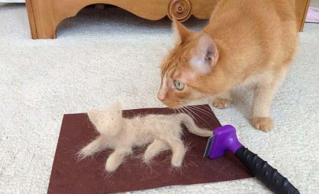 Использование фурминатора у кошек
