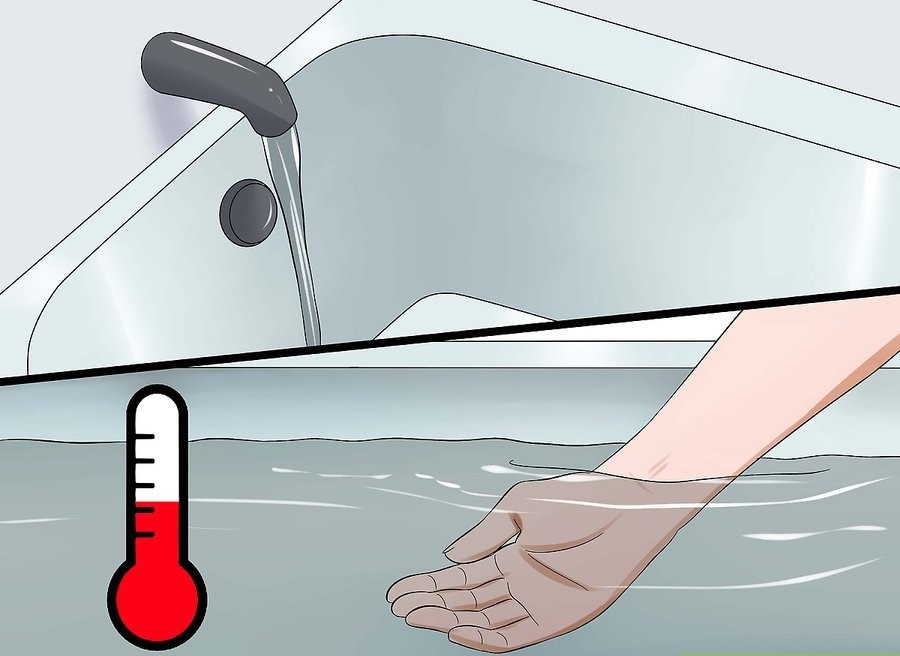 Рекомендованная температура воды – от 36 до 39 °C