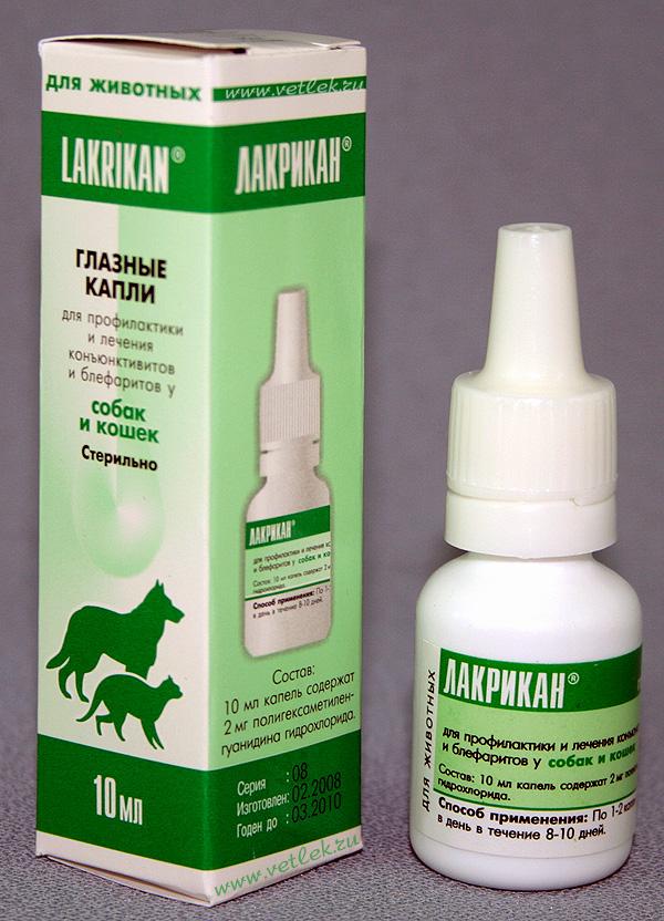 Лакрикан – глазные капли с широким антибактериальным эффектом