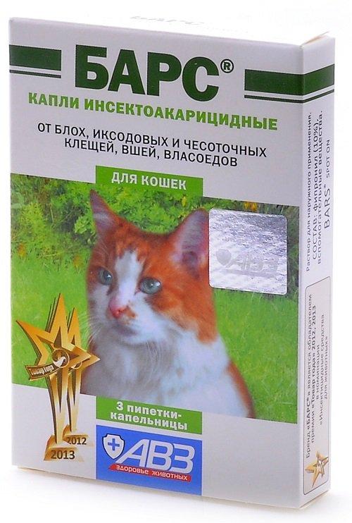 Барс - это эффективный препарат против возбудителей отодекоза