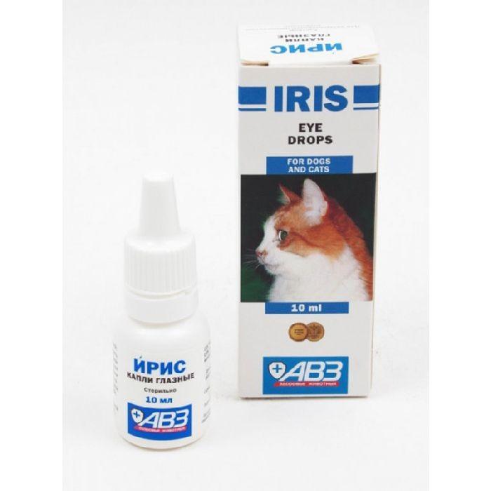 Ирис – антибактериальные капли для глаз